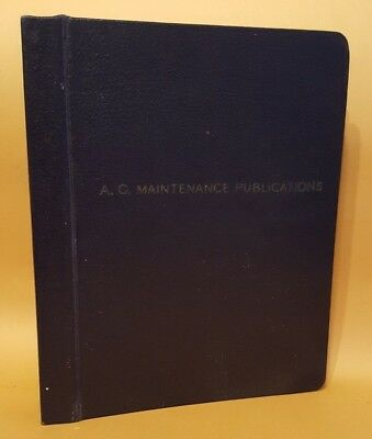WWII 1943 Technical Orders A/C Maintenance 1943 Instrument Flying Trainer
