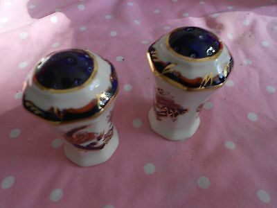 MASONS IRONSTONE 'Mandalay' 2 x Pepper Pots, Can use as Salt and Pepper