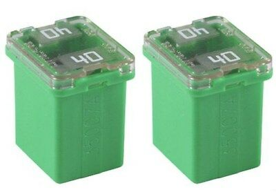 FMX JCASE Type 5 Flosser 609050 50 Amp Female Maxi Fuses Made in Japan