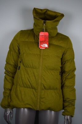 45f70e51d NWT! $600!! WOMENS North Face CRYOS Wool Down Jacket sz M Green Heather  SAMPLE