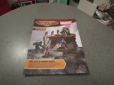 Heroscape Guide Book Instructions,marvel The City Under Siege