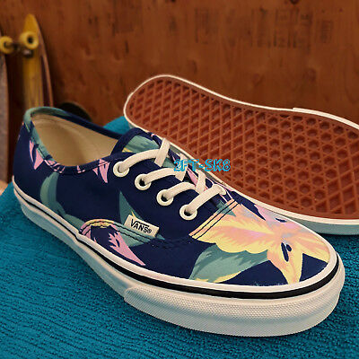 fed22111fed Vans Authentic Vintage Floral Navy Marshmallow Women s Skate Shoes   S85116.171