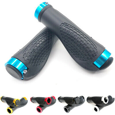 1Pair Ergonomic MTB Road Cycling Skid-Proof Handlebar Grips Rubber Bicycle Grips