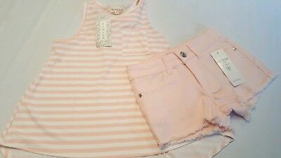 Girls outfit size 8 Guess, btween nautical top C3