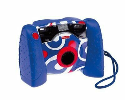 Fisher Price Kid Tough Digital Camera Blue Comes With Built In Auto Flash
