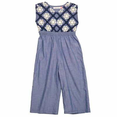 Pink Chicken Baby Astrid Jumper - Us Size 7Y - Chambray Nwt