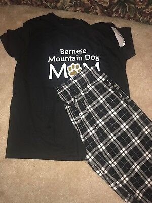 Bernese Mountain Dog Pajamas size Large