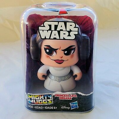 PRINCESS LEIA ORGANA Star Wars MIGHTY MUGGS 04 Action Figure 2017
