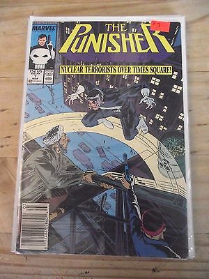 Punisher Unlimited Series #7 (1987) Newsstand edition FN- (5.5)