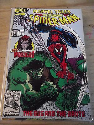 Marvel Tales Featuring Spider-Man #263 The Bug and the Brute Hulk appears FN