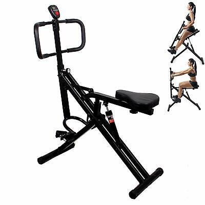 Total Crunch Hydraulic Resistance Core Legs Upper Body and Ab Exercise Full Body