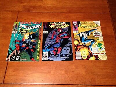 Marvel Tales 3 Lot 255+264+268 Spider-Man+Ghost Rider+Dungeons&dragon Quest Ads