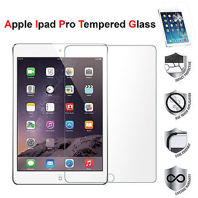 "Premium Tempered Glass Film Screen Protector For iPad Pro 10.5 /12.9""/ 9.7"" Inch"