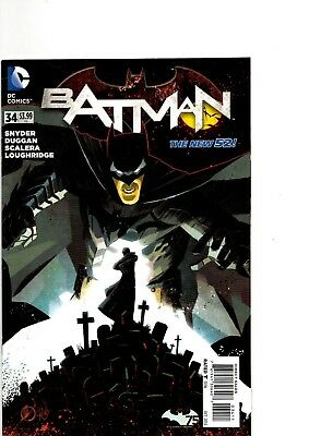 Batman New 52 #34-42 (Complete Batman:Endgame Story) First Pressings