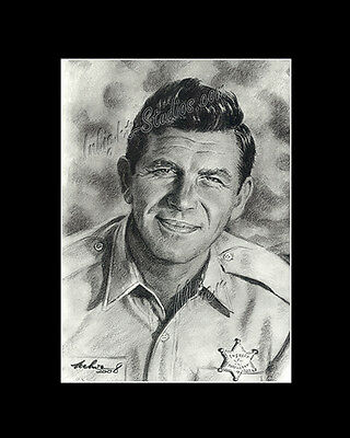Andy Griffith comedies drawing from artist art image picture