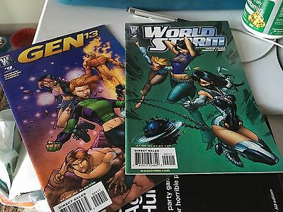 Gen 13 #9 & World Storm #2 (2007)