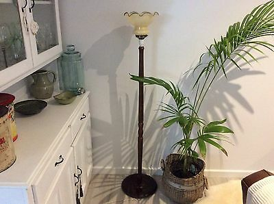 antique lamp and stand