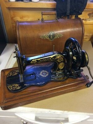 Singer Sewing Machine Boxed Antique 1874