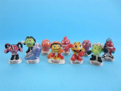 Incredible Miniature Porcelain Pac Man&the Ghostly Adventures Collection *mint*