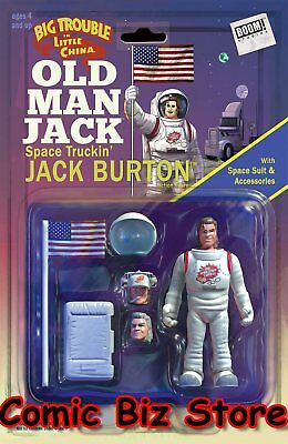 Big Trouble In Little China Old Man Jack #4 (2017) Action Figure Var Cvr Boom