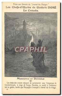 Vintage Postcard the chiefs of work of Gustave Gilds the crusades Murzuffle and
