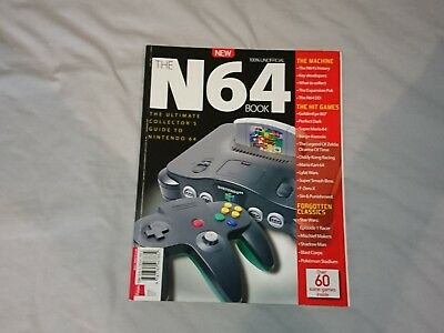 Retro Gamer The Nintendo N64 Book Bookazine. 2017