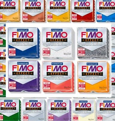 FIMO EFFECT POLYMER MODELLING CLAY OVEN BAKE 57g  85g  Choose Colours
