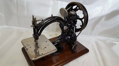 Old Vintage Antique Chain Stitch Sewing Machine Wilcox Willcox & Gibbs