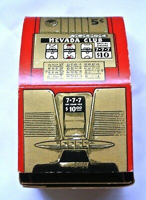 Collectible Nevada Club Downtown Las Vegas Nevada Matchbook Dispenser