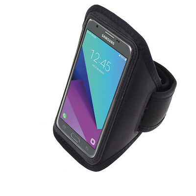 For Samsung Galaxy J7 Sky Pro J7 V 2017 Gym Running Jogging Sports Armband Case