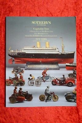 SOTHEBY'S Capitalist Toys Boats Motorcycles Forbes December 1994