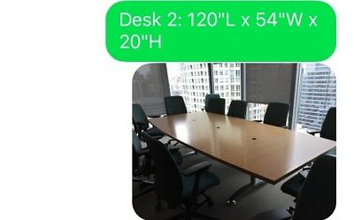 conference tables, Used, excellent condition,sold individually ortogether
