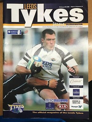 Leeds Tykes Rugby Programme