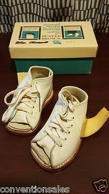 Vintage Buster Brown Corrective Orthopedic Lace Up Shoes With Box
