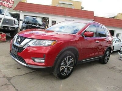 2017 Nissan Rogue  2017 Nissan Rogue AWD SL CLEAN TITLE Hail Loss 2k Miles! Save Loaded Wont Last!