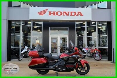Honda Gold Wing®  2015 Honda Gold Wing Audio Comfort Navi XM ABS Candy Red Used