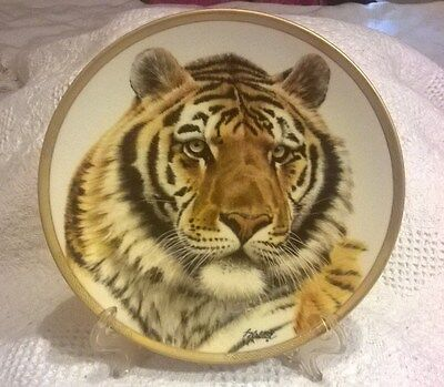 Vintage Lenox Great Cats of the World Collectors Plate 1994 - SIBERIAN TIGER