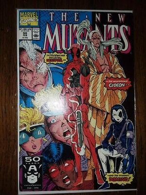 The New Mutants 98 VF/F Very Fine Fine Condition 6.5 1st Appearance Deadpool