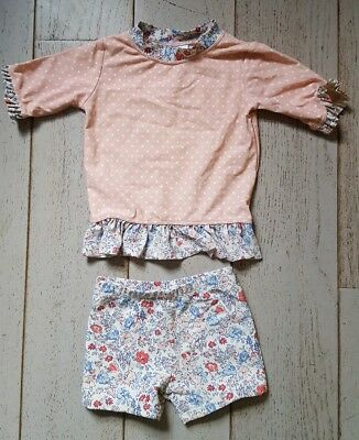 NEXT baby girl 2 piece swimming suit 12-18 months