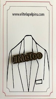Me Too Pin #metoo custom lapel pin
