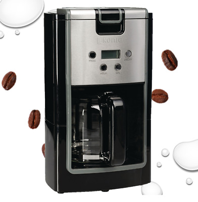 grafner digitale filter kaffeemaschine mit timer kaffeeautomat f r 12 tassen neu eur 26 89. Black Bedroom Furniture Sets. Home Design Ideas