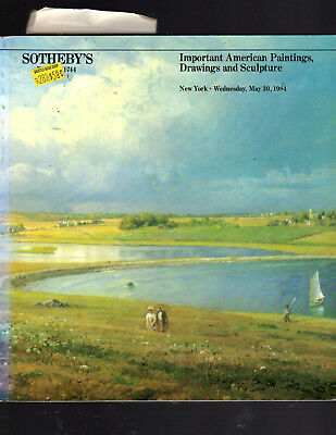 Sotheby's Ny 05/30/84 Important American Paintings, Drawings & Sculpture