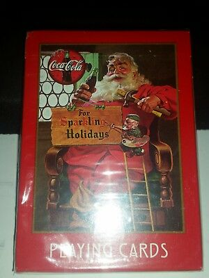 1998 Coca Cola For Sparkling Holidays No.334 Playing Cards New In Box