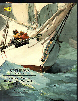 Sotheby's Ny 05/25/95 American Paintings And Drawings & Watercolors Hardcover