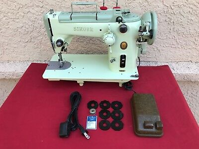 Vintage Singer 319W Sewing Machine Refurbished & Serviced Comes W Extras