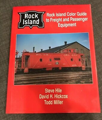 Rock Island Color Guide to Freight and Passenger Equipment Morning Sun Books