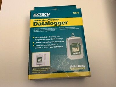 New Extech 42270 Temperature/humidity Datalogger , Free Shipping!!!