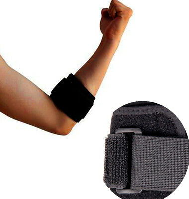 Baligh Tennis Elbow Support Brace Golfer's Strap Epicondylitis Lateral Pain Gym