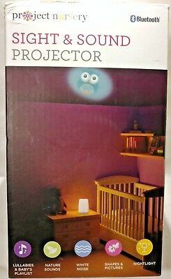 Sight and sound projector Project Nursery baby night light