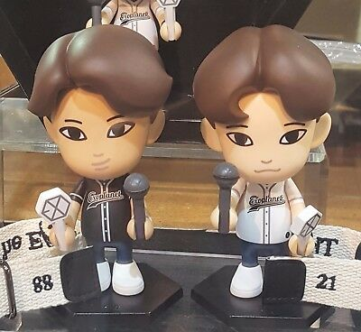 [EXO] SM Town Official Goods EXO Figure 11cm,Photo Card LTD NEW + Free Tracking